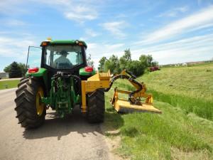 teeäärte niitmine GPS