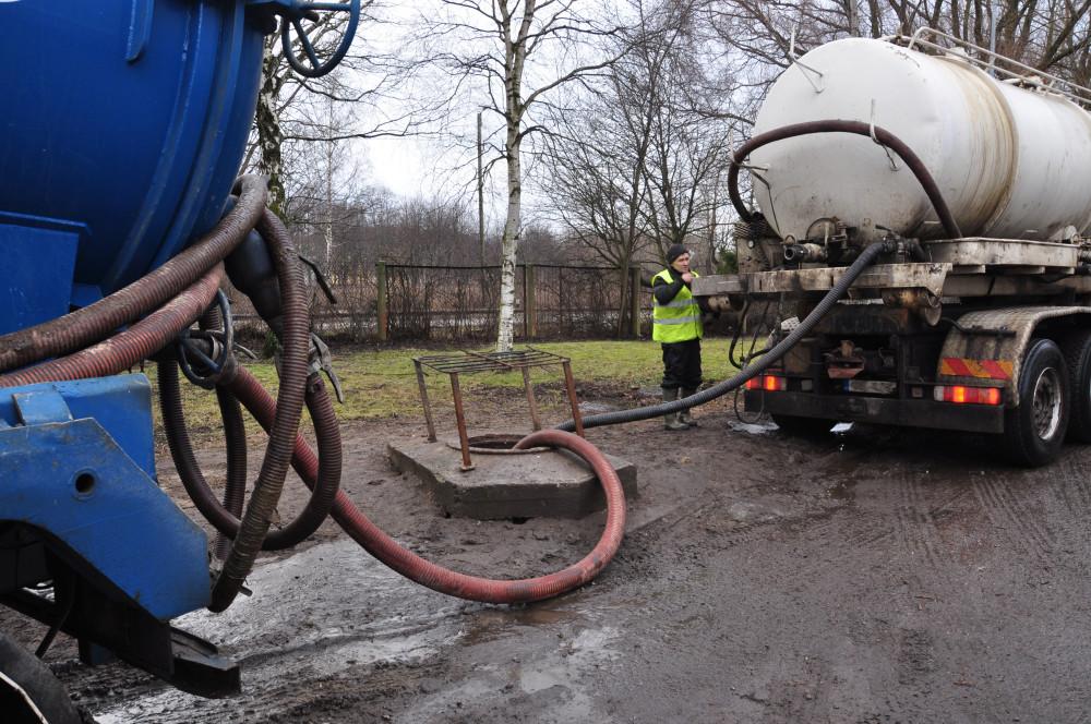 Tallinna vesi GPS purgimine